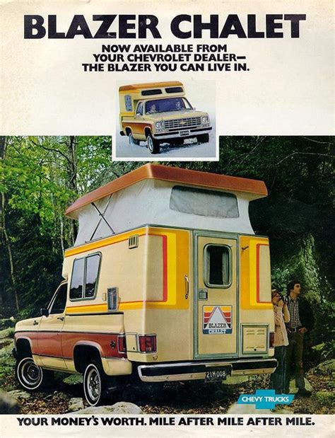 Blazer Chalet For Sale by Classic Slide In Cer Chalet Cool Rv Pictures