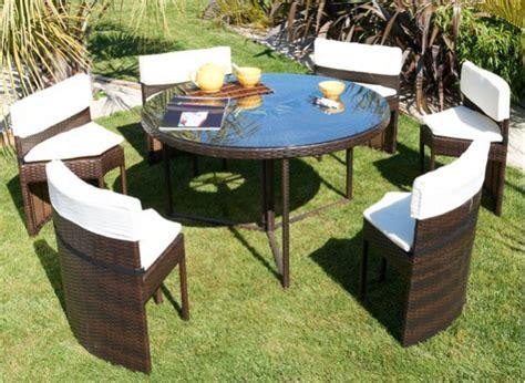 table et chaises de jardin en resine tressee quel mobilier choisir pour jardin sem jardin