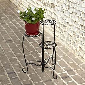 Three Tier Plant Stand Outdoor Living Outdoor Decor