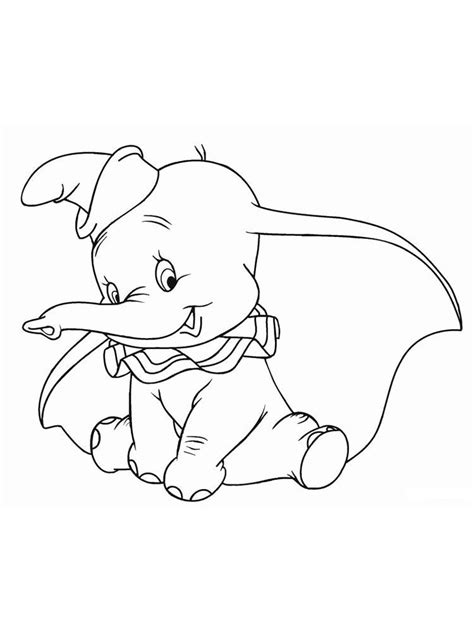 Dumbo Coloring Pages Free Pdf | Disney coloring pages, Disney coloring sheets, Cartoon coloring