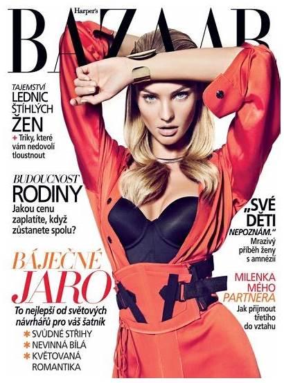 Candice Swanepoel Bazaar Harper Covers Models Proudly