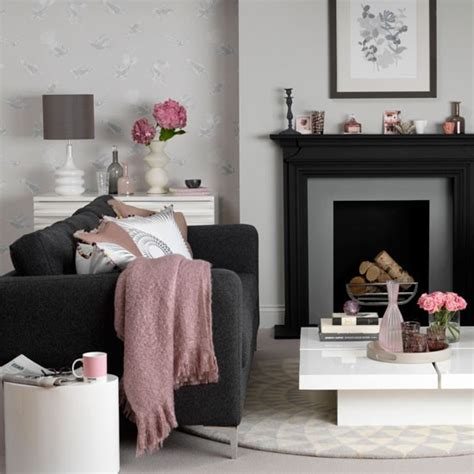 black sofa living room ideas modern living room with a black sofa decorating with