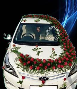 Exclusive car decoration Online Flowers and Bouquet