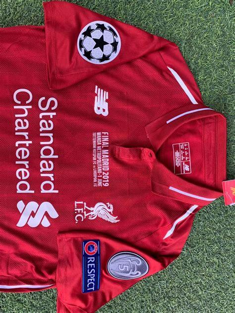 Liverpool 2019 Champions League Final Shirt - Bargain ...