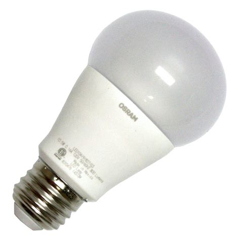 sylvania light bulb sylvania 79153 led10a19 827 g3bl a19 a line pear led