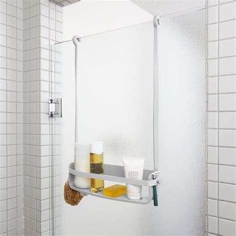 tablier de cuisine rigolo etagere de suspendue grise design umbra flex single