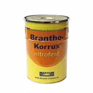 Ral 9010 Reinweiß : brantho korrux nitrofest ral 9010 reinwei 5 liter dose grundi ~ Orissabook.com Haus und Dekorationen