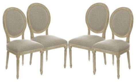 set of 4 vintage upholstered side dining