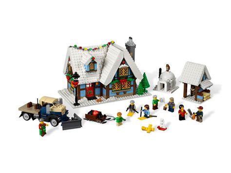 Winter Cottage Lego by Lego Winter Cottage 2012 Toys N Bricks