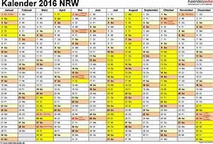 Kalender Zum Ausdrucken 2016 : kalender 2016 nrw download ~ Whattoseeinmadrid.com Haus und Dekorationen