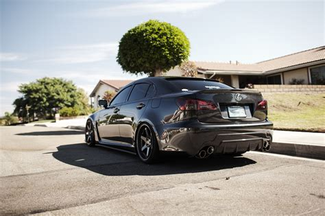 stanced lexus isf amazing lexus is f sitting on te37 39 s stancenation