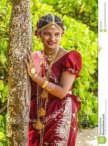A Bride Poses During A Poruwa In Colombo, Sri Lanka