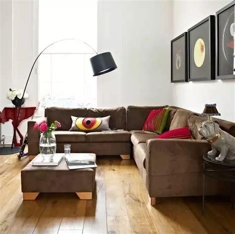 parede verde sofá marrom almofadas para sof 225 marrom como escolher cores de