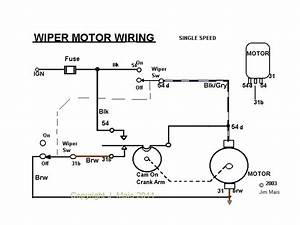Electrics Early 12v Wiper Motor Wiring - Vw Forum