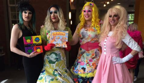 drag queen storytime  public library  pride months