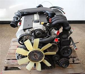 Complete Engine Motor Assembly 1997 Mercedes C280 W202 - 104k Miles