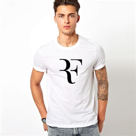 t shirt roger federer 2 summer fashion rf t shirt roger federer shirt brand cotton