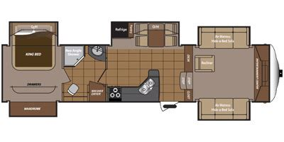 montana 5th wheel floor plans 2013 2013 keystone rv montana mountaineer edition 375flf