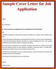 Sample Cover Letter Format For Job Application Sailing