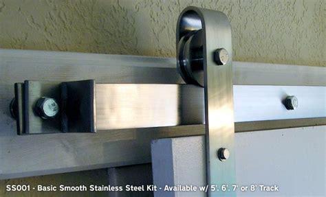 Agave Ironworks Barn Door Flat Track Hardware Kits
