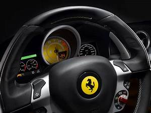 Wallpaper steering wheel, Ferrari FF, Ferrari Four ...