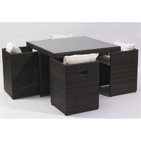 table de jardin chaise encastrable salon de jardin petit prix bricolage maison et décoration