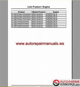 New Holland T7 270 Service Manual