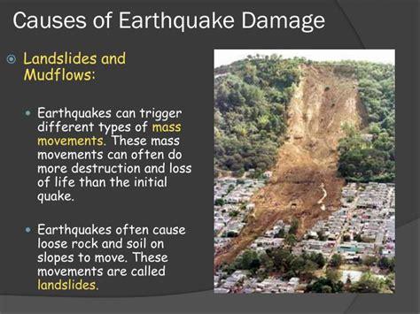 Earth Science 8.3 Earthquake Hazards Powerpoint