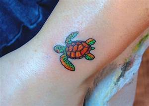 Baby Sea Turtle Foot Tattoo | www.imgkid.com - The Image ...