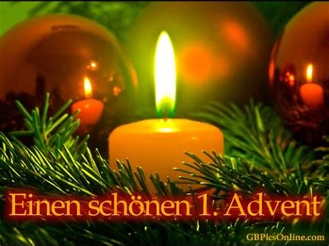 erster advent youtube