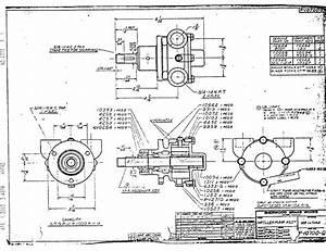 Sherwood Raw Water Pump - Drawings