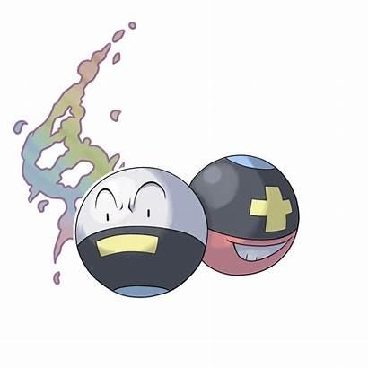 Electrode Mega Deviantart Pokemon Evolution Evolutions Komala