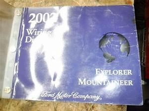 2002 Ford Explorer Mercury Mountaineer Factory Wiring Diagrams Manual