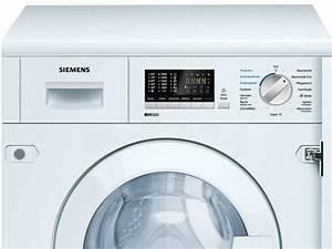 Siemens Geschirrspüler Dekorplatte Montieren : siemens wk14d541 einbau waschtrockner einbauger t waschen trocknen ~ Watch28wear.com Haus und Dekorationen