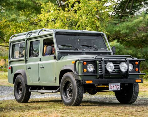 classic land rover 1987 land rover defender 110 classic cars today online