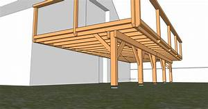cool plan de terrasse en bois sur pilotis plan de terrasse With terrasse bois pilotis plan