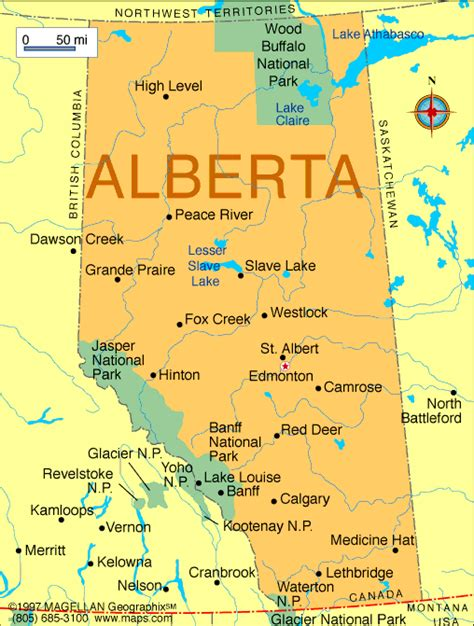April 2012   Map of Canada City Geography
