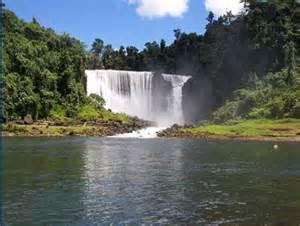 Papua New Guinea Waterfall