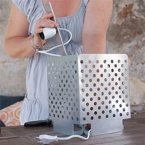 Fabriquer Une Lampe De Chevet : je transforme des grilles en lampe prima ~ Zukunftsfamilie.com Idées de Décoration