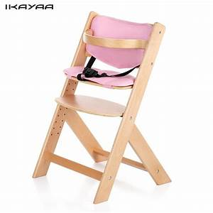 Hochstuhl Baby Holz : ikayaa uns lager baby hochstuhl holz kissen h henverstellbar buchenholz highchairs f r kinder ~ Watch28wear.com Haus und Dekorationen