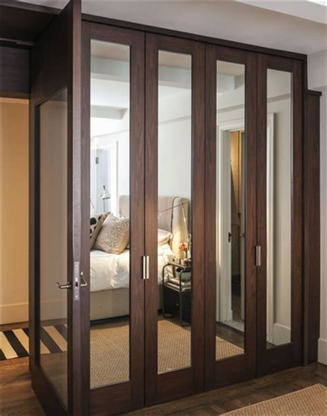 custom mirrored closet doors decorating