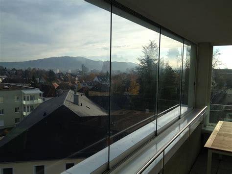 Zuhause Besser Wohnen by Rahmenlose Schiebefenster F 252 R Balkon Ungetr 252 Bte Blicke