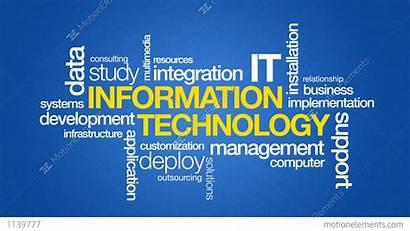 Technology Business Science Animation Symbols
