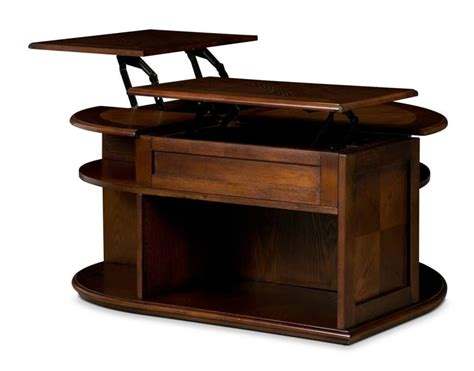 espresso coffee table double lift top coffee table in regal walnut roy home design