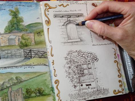 nature sketching painting classes mary mcandrew