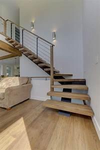 Escalier Metal Et Bois : 17 meilleures id es propos de escalier bois metal sur ~ Dailycaller-alerts.com Idées de Décoration