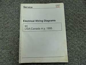 1995 Audi 90 Quattro Sedan Electrical Wiring Diagram