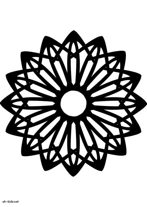 une image de rosace imprimer gratuitement dessin 1175 pictureicon