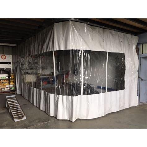 bache coulissante pour cabine de peinture nord baches