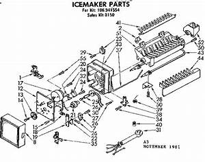 Kenmore 106 941554 Replacement Ice Maker